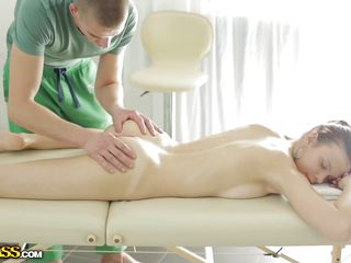 Русское порно массаж большие сиськи