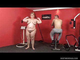 Порно жирная госпожа