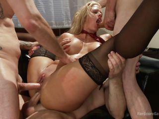 Старое немецкое групповое порно